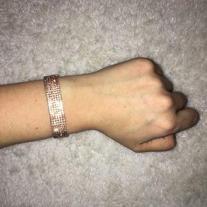 Jewelry - Ultra sparkly amber bronze band